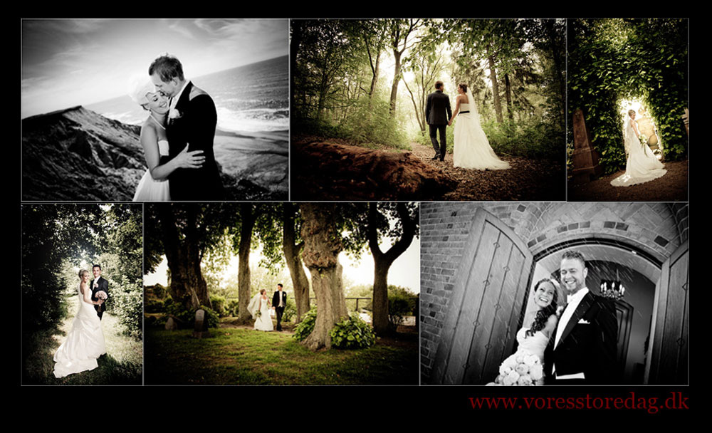 bryllupsfotografing i hele jylland